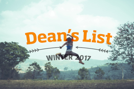 Nearly 1,000 students make Dean's list