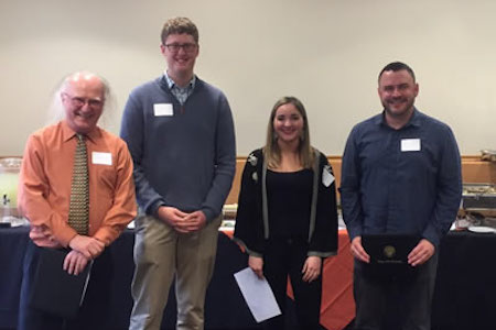 Phi Beta Kappa student awards for best instructor and best mentor go to science faculty