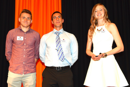 Science student-athletes honored for academic achievement