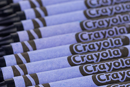 Pigment discovered by Oregon State chemist inspires a new Crayola crayon color