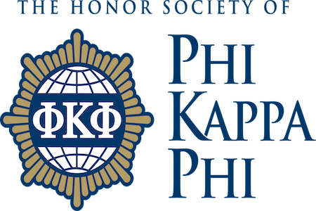 Phi Kappa Phi honors Dean Roy Haggerty and 15 science students at annual initiate ceremony