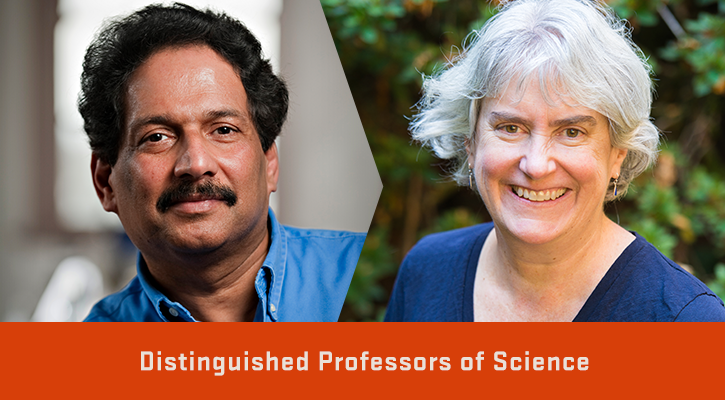 Two distinguished professors share their impacts in science