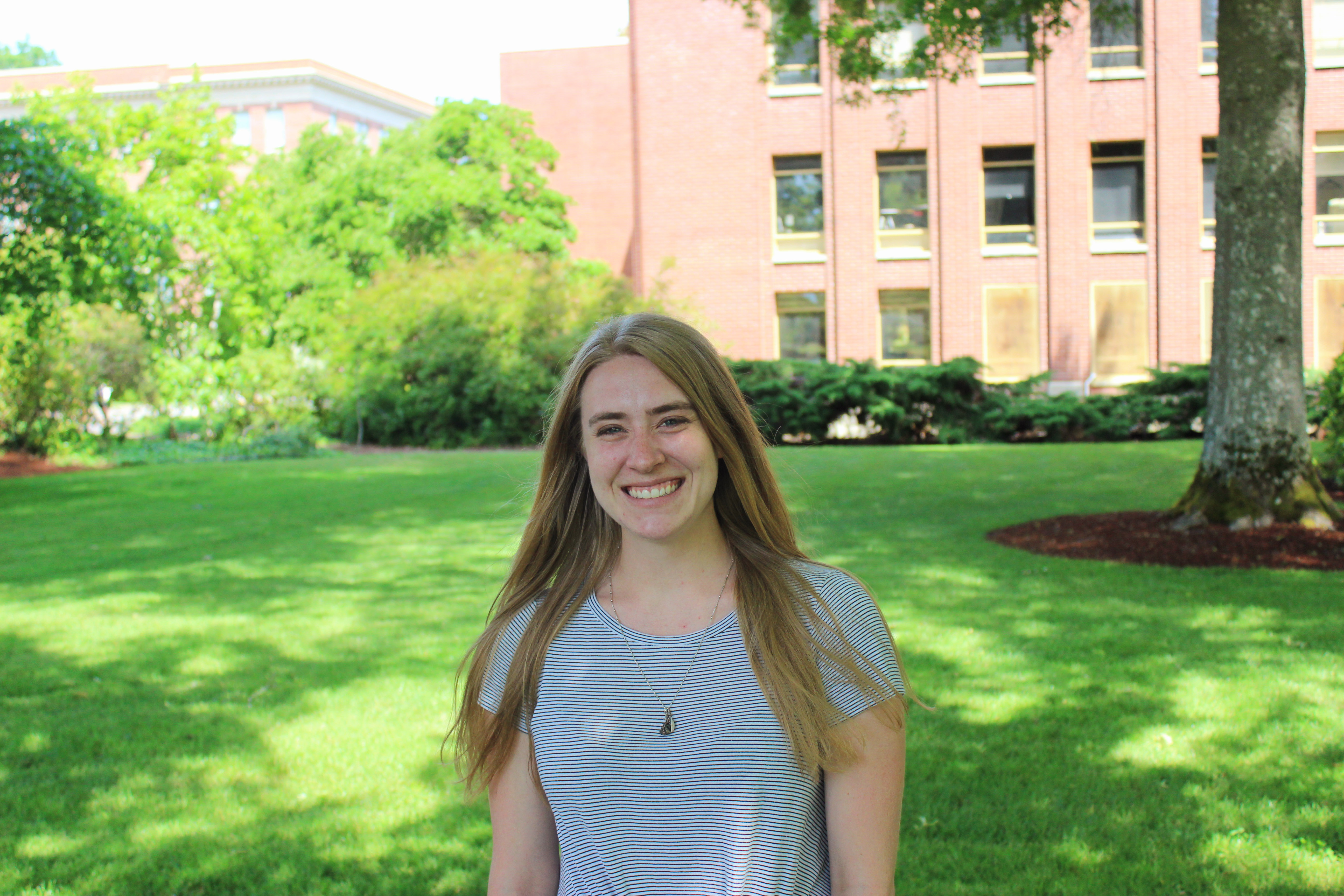 Microbiology senior's quest for challenge leads to space research