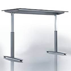Crank Height Adjustable Table