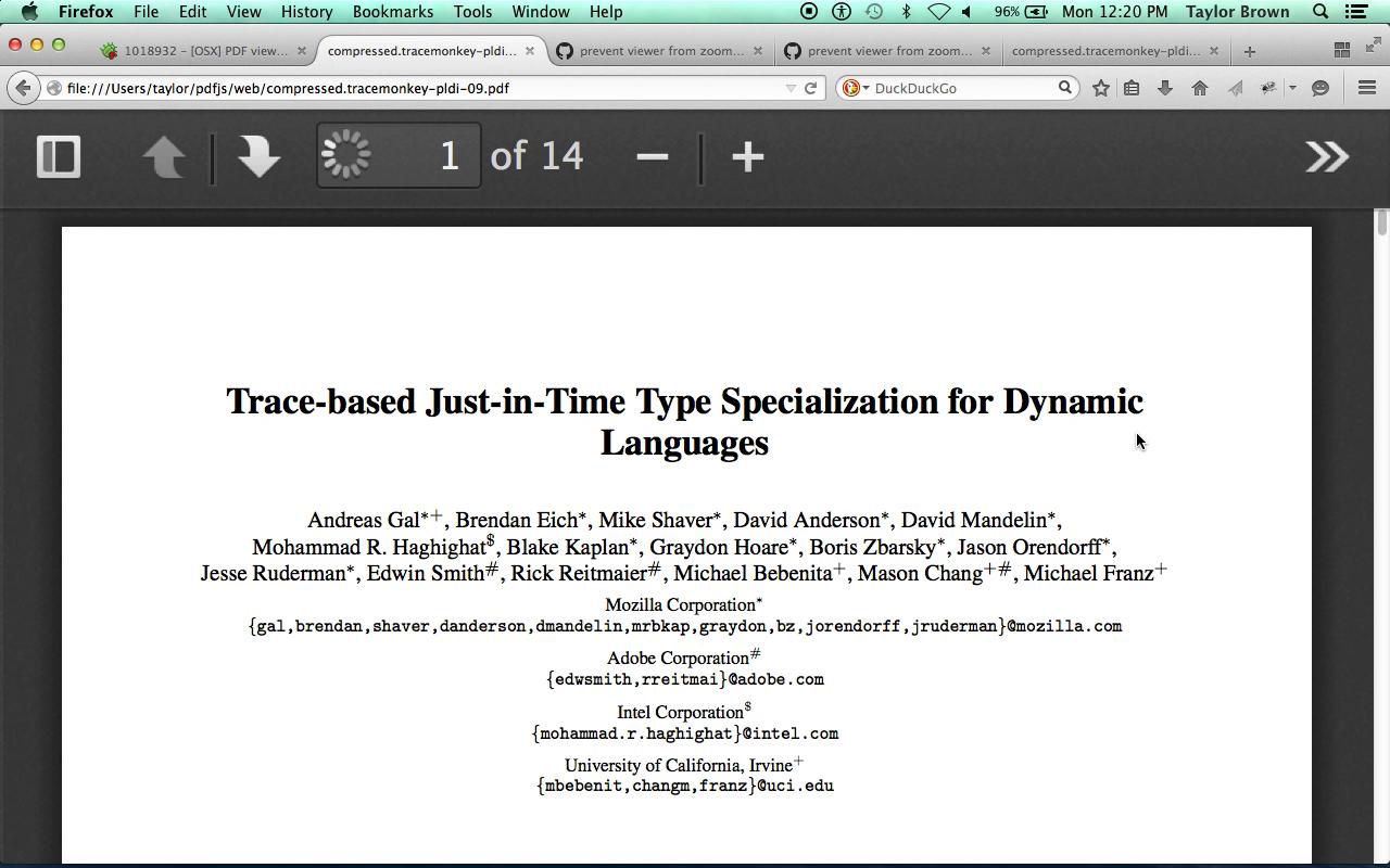PDF js Bug Fix - MIST Blog