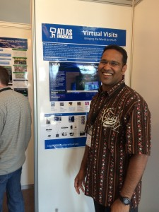 Sahal at the International Conference on High Energy Physics in Valencia Spain.