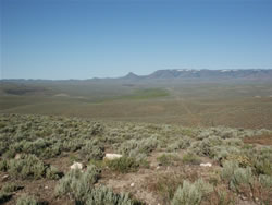 View of McDermitt Basin