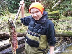 Katherine Nordholm M.S. Fisheries Candidate