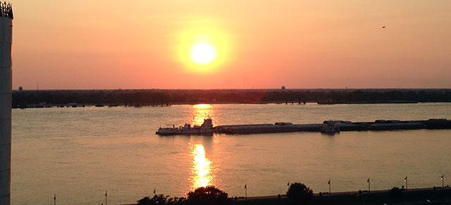 lumcon-sunset