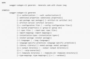 client generation code