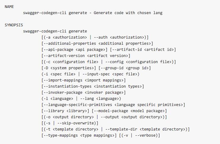 Using openapi specification for designing apis osu developer client generation code malvernweather Choice Image