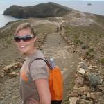 Jessica Fowler in Ecuador