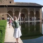 Anna Prosser in Spain