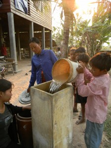 Biosand Water Filter l Boren Fellowship l Cambodia