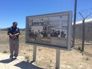 Robben Island Political Prisoner-Tour Guide