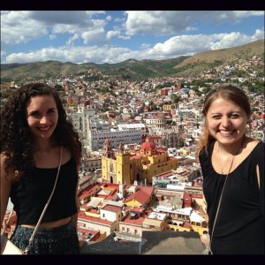 A friend and I on a weekend trip to Guanajuato