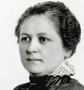 (c) worldofbadasswomen.com [2015] A portrait photo of the great inventor and visionary Melitta Bentz. Her determination to find a better way of making coffee and her tenacity to take it to market completely changed the coffee industry.