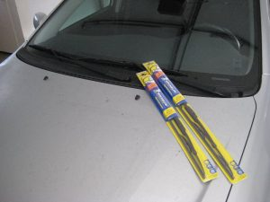 Replacement windshield wipers by Paul's Travel Pictures.