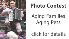 Aging Families, Aging Pets Photo Contest