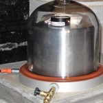Seismometers operate in sealed containers to eliminate interference from changes in atmospheric pressure.