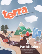 Spring 2011 cover, Pathfinders