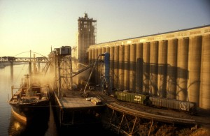 Wheat elevators at the Port of Portland, the nation's largest wheat export facility. (Photo: Tom Gentle)