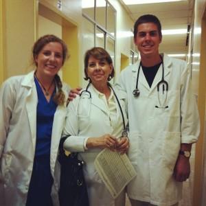 Erik Dove gets cultural as well as medical experience in Ecuador.