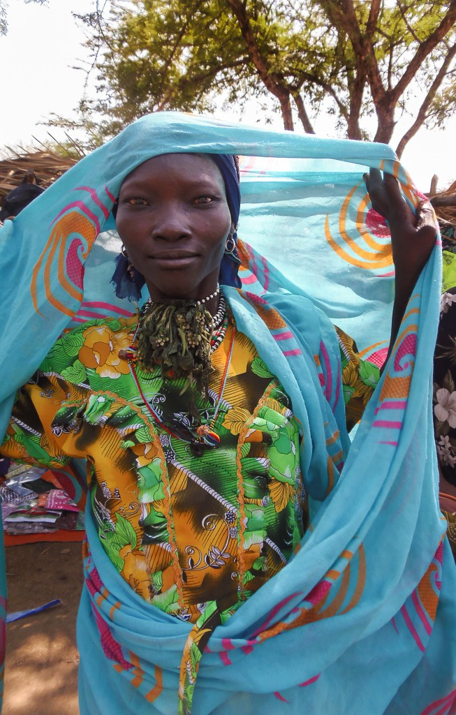 A Gumuz woman at market day in the Blue Nile region of Ethiopia.
