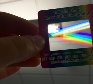 Linear Diffraction Grating