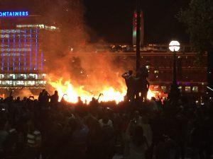 The ending blaze!