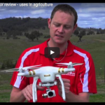 screen shot of drones on farm youtube video