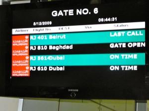 Baghdad Flight
