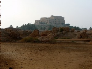 North Palace Ruins and Saddam Palace