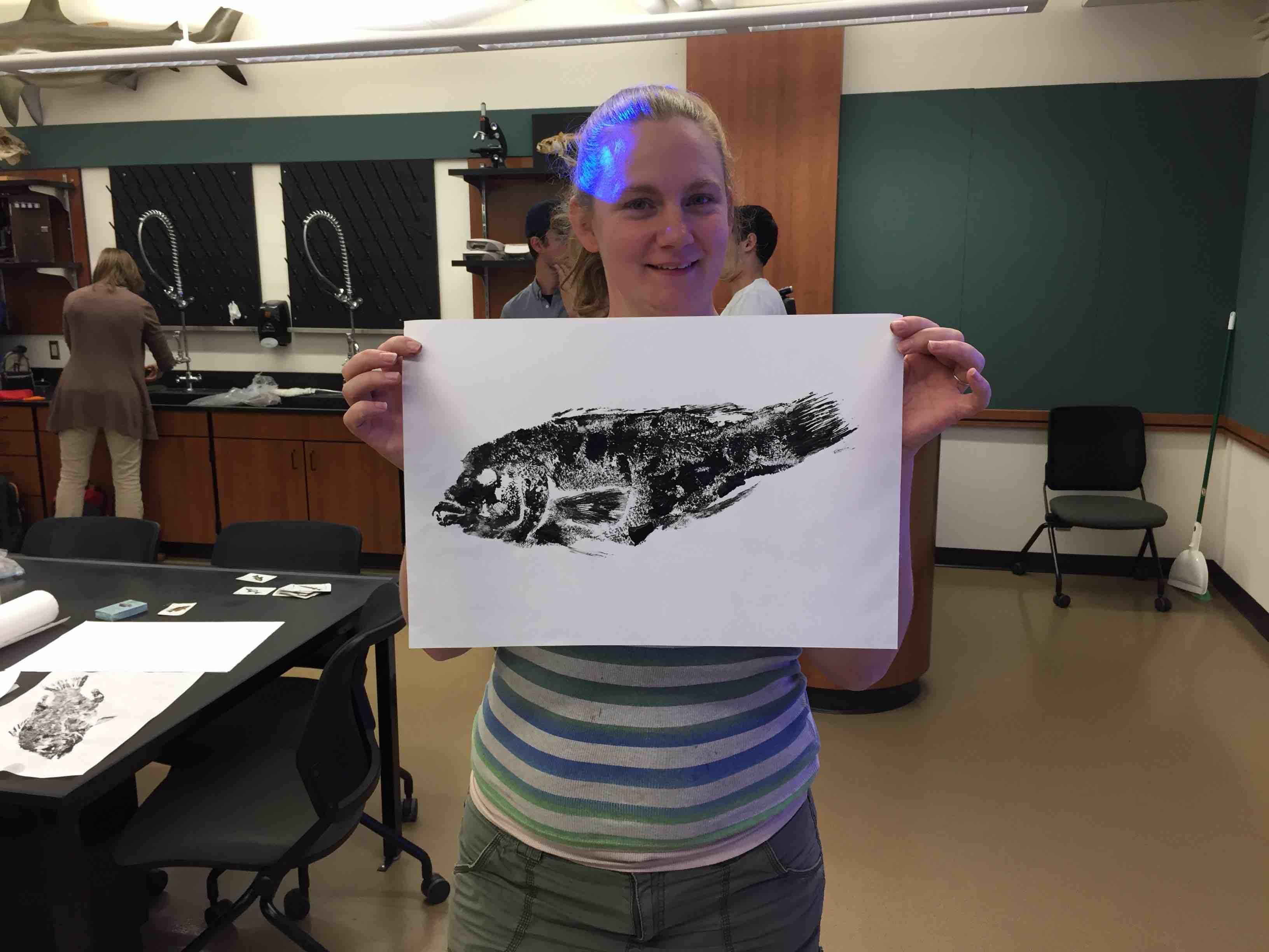 Gyotaku Fish Printing 2017_16