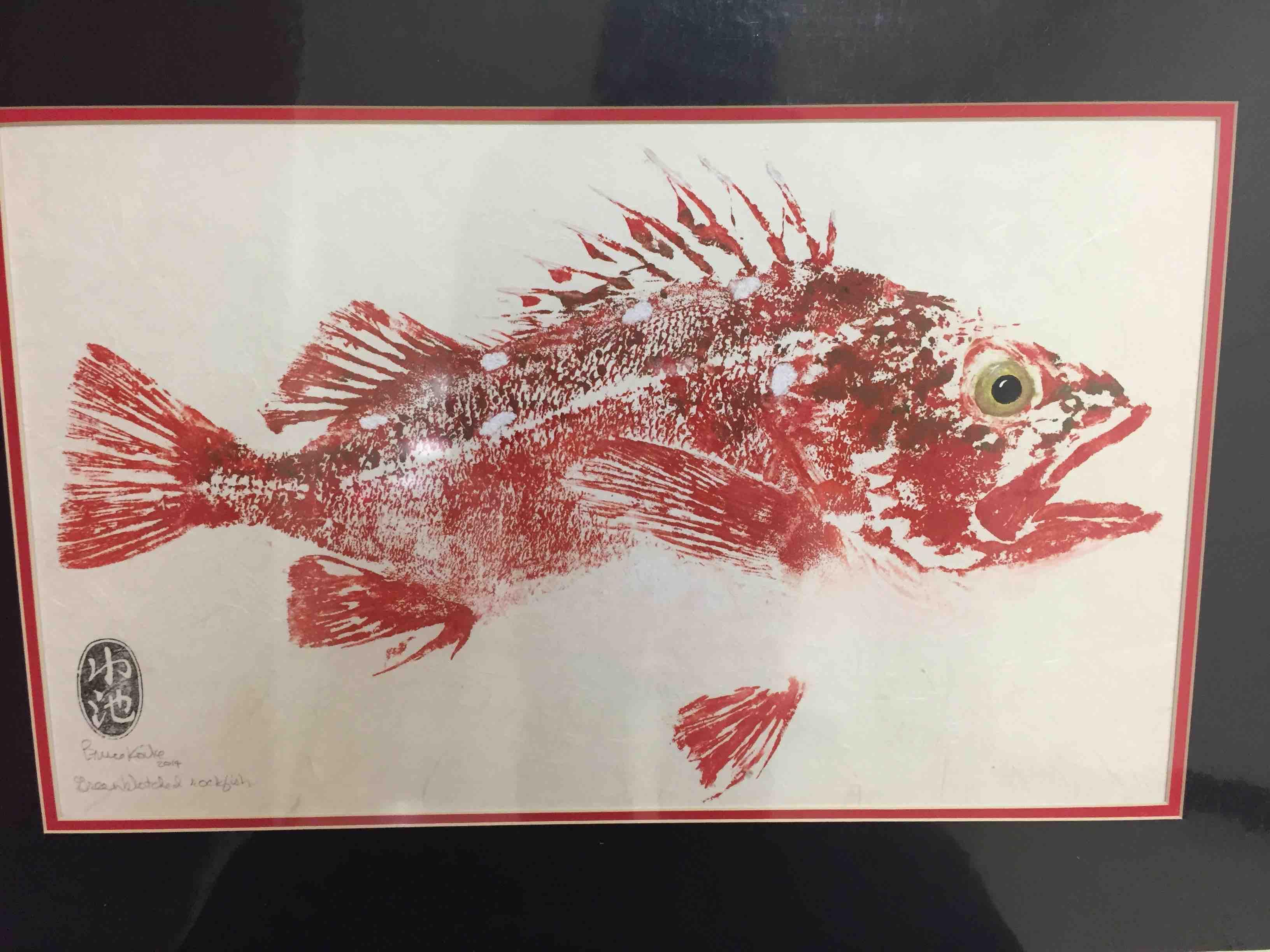 Gyotaku Fish Printing 2017_5