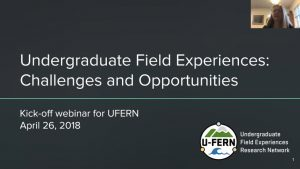 Undergraduate Field Experiences Challenges and Opportunities