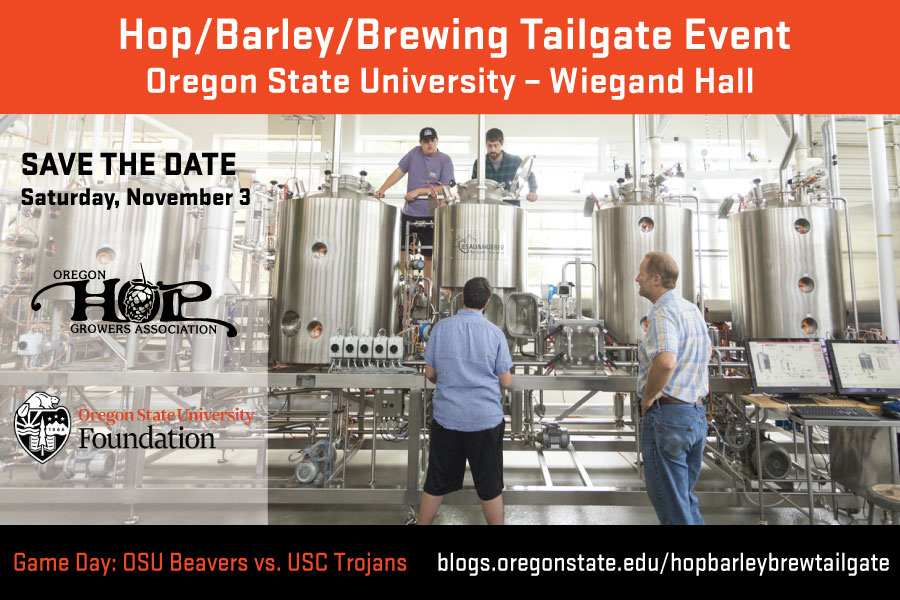 Hop/Barley/Brewing Tailgate Event