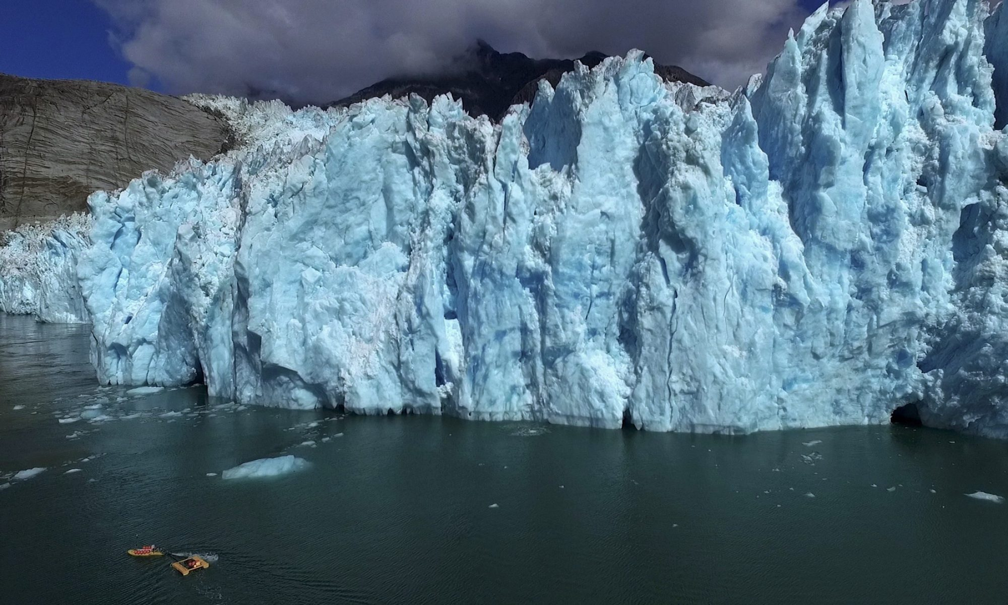 Glaciers, Oceans, and the Sounds of Ice