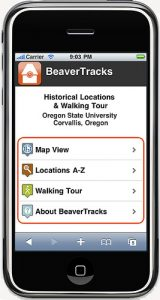 BeaverTracks screenshot