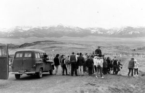 4-H Tour, Grant County, Mt. Range scene