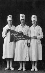 """Uncle Samme's Canners"" Tillamook County, State Champions, 1919."
