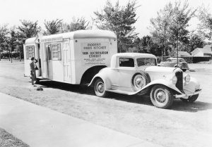 Mobile Kitchen, 1938