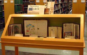 Illuminated Manuscripts display