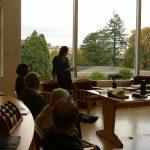 Anne Bahde gives rare books presentation