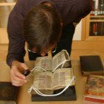 Chris Petersen at rare books presentation