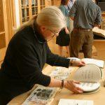 Mary Braun at rare books presentation
