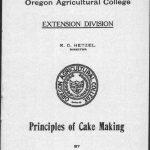Principles of Cake Making (1913)