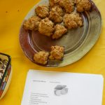 Taste of 'chives 2012 -- sweet potato biscuits