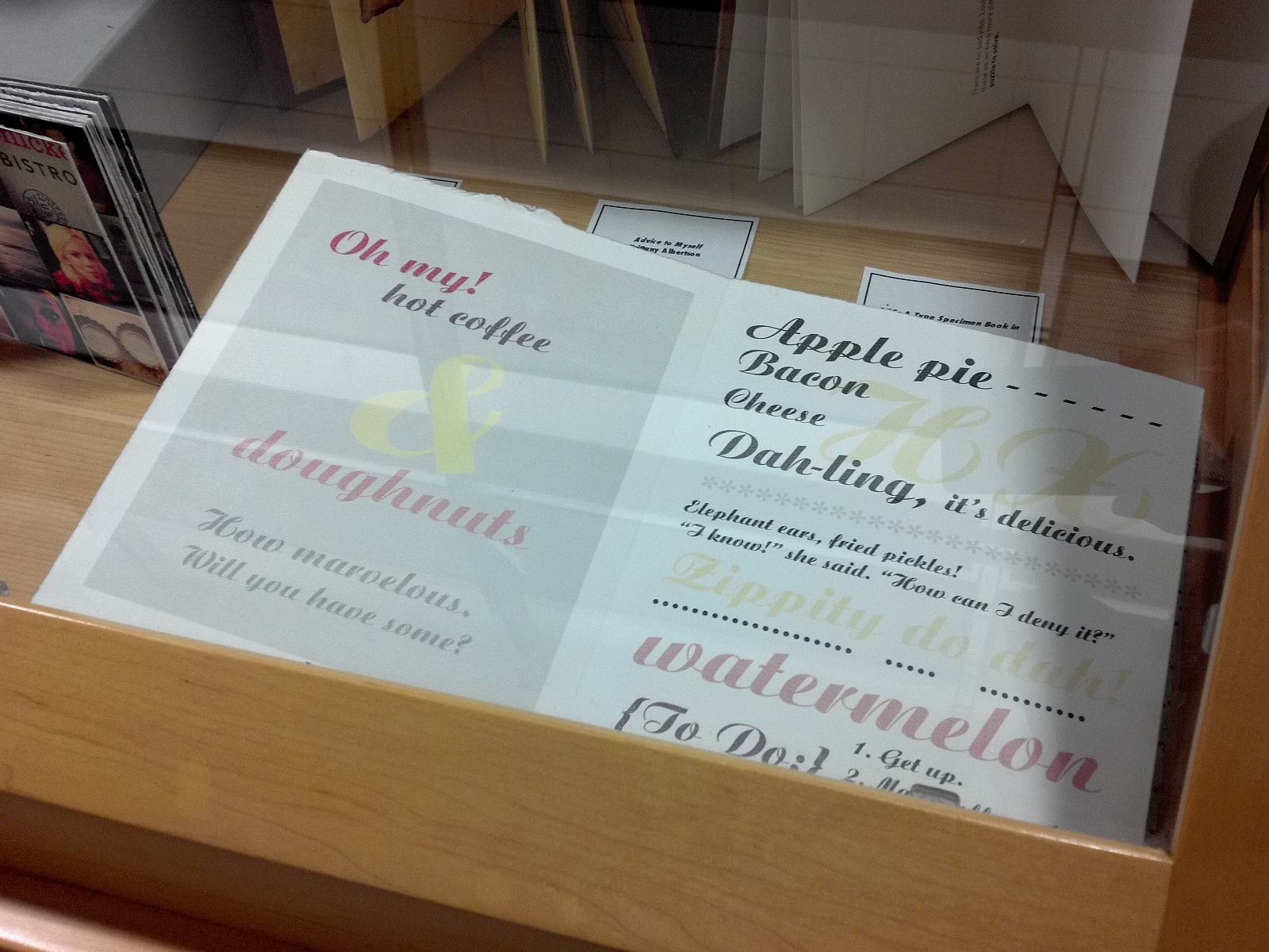 Friday Feature: lovely book arts exhibit on the 5th floor | Special ...