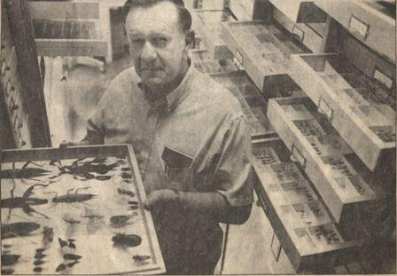Lattin with Entomology Collection